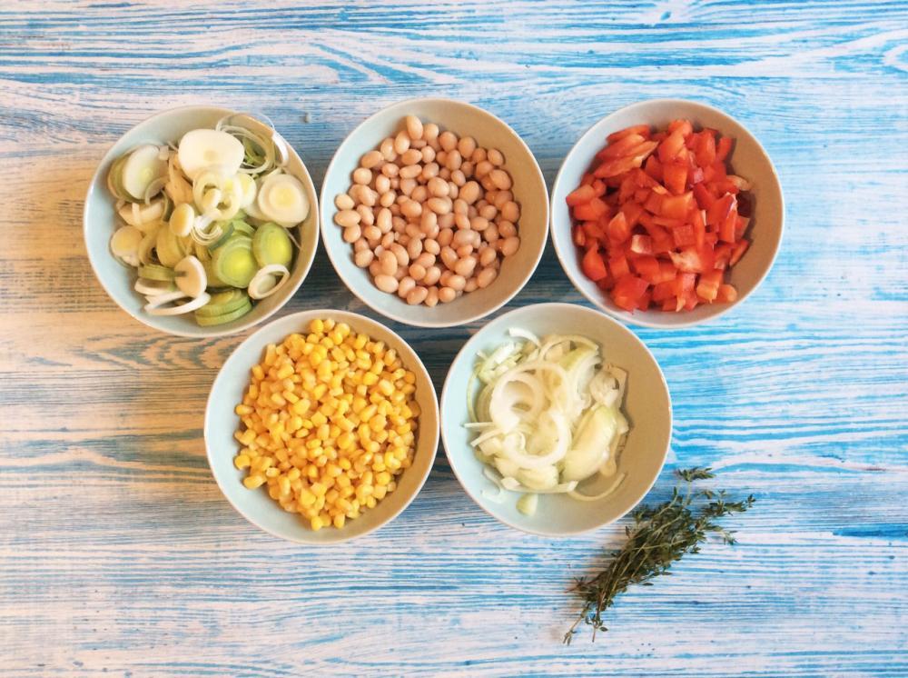 Суккоташ с овощами