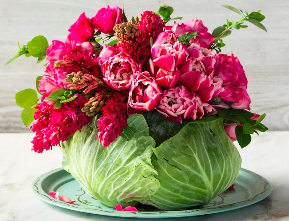 Букеты из цветов креатив