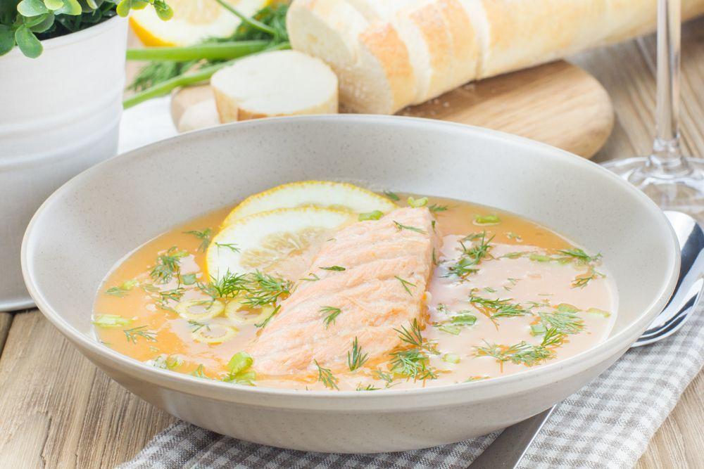 На супа финского молоке Рецепт рыбного супа with him