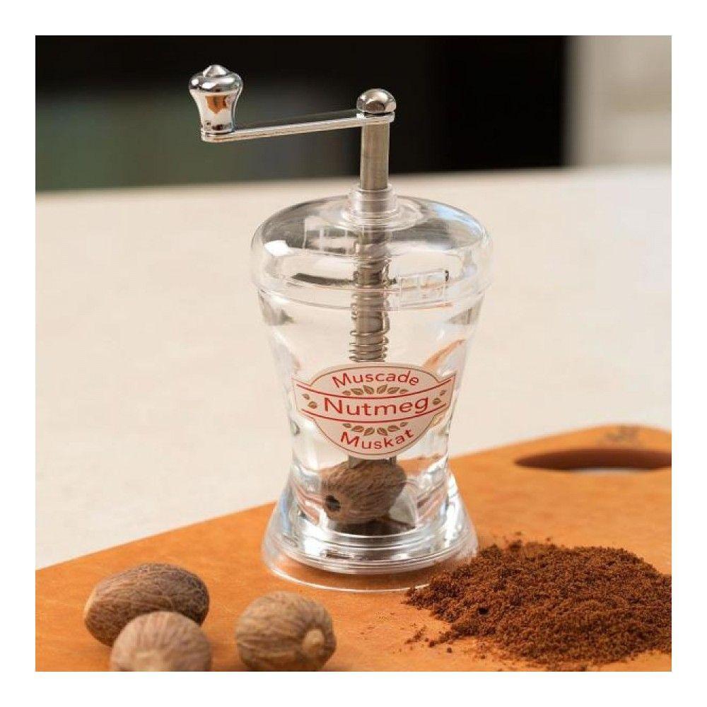 Мельница для мускатного ореха Cole&Mason Nutmeg, цвет прозрачный изображение №0