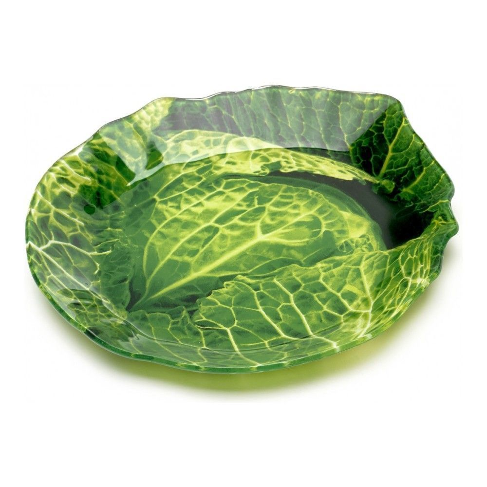 Блюдо сервировочное Walmer Cabbage 20х21 см, цвет зелёный изображение №1