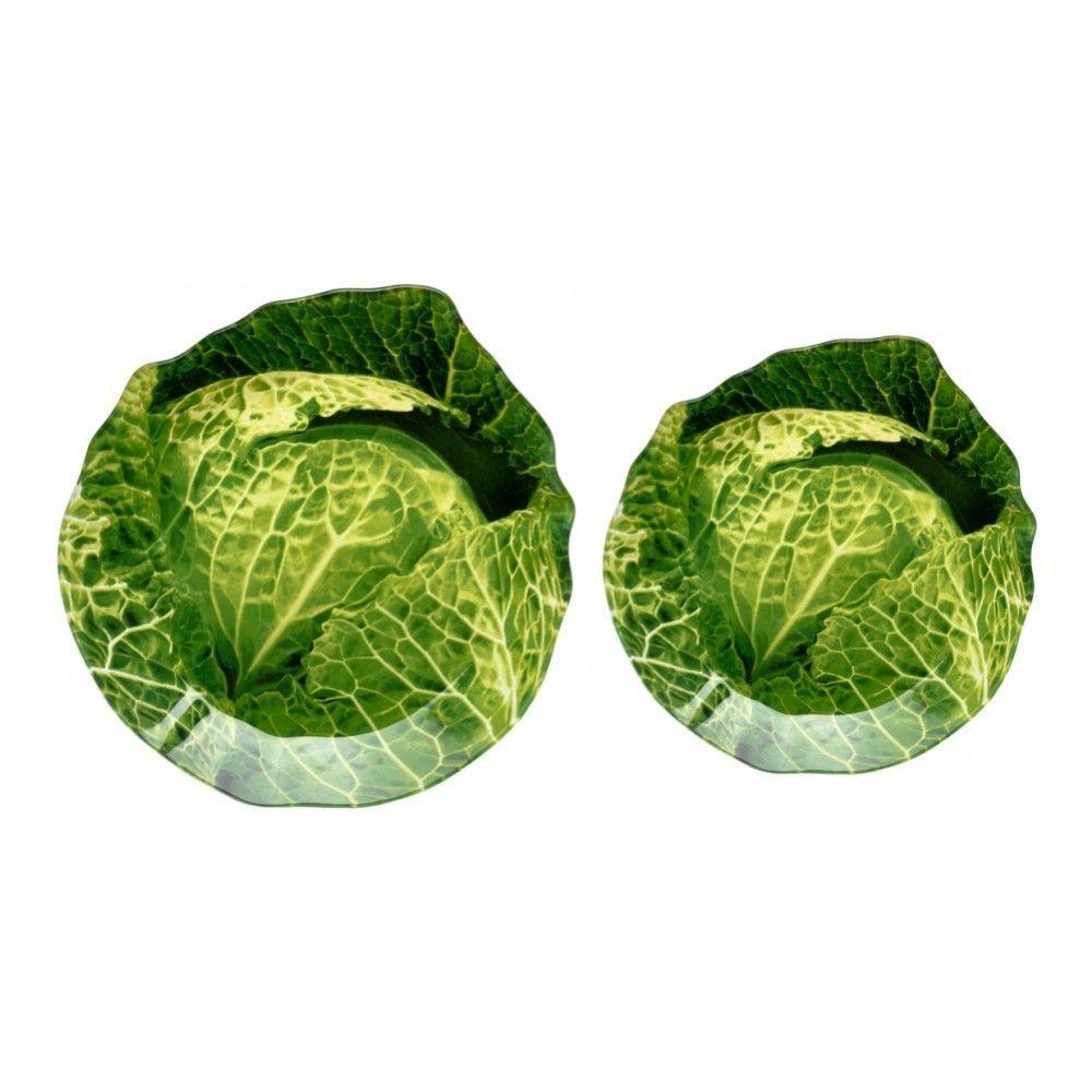 Блюдо сервировочное Walmer Cabbage 20х21 см, цвет зелёный изображение №2