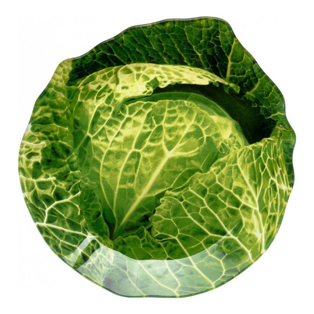 Блюдо сервировочное Walmer Cabbage 20х21 см, цвет зелёный изображение №0