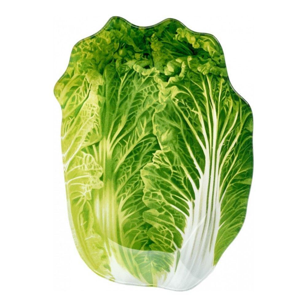 Блюдо сервировочное Walmer Greenery 13х18 см, цвет зелёный изображение №0