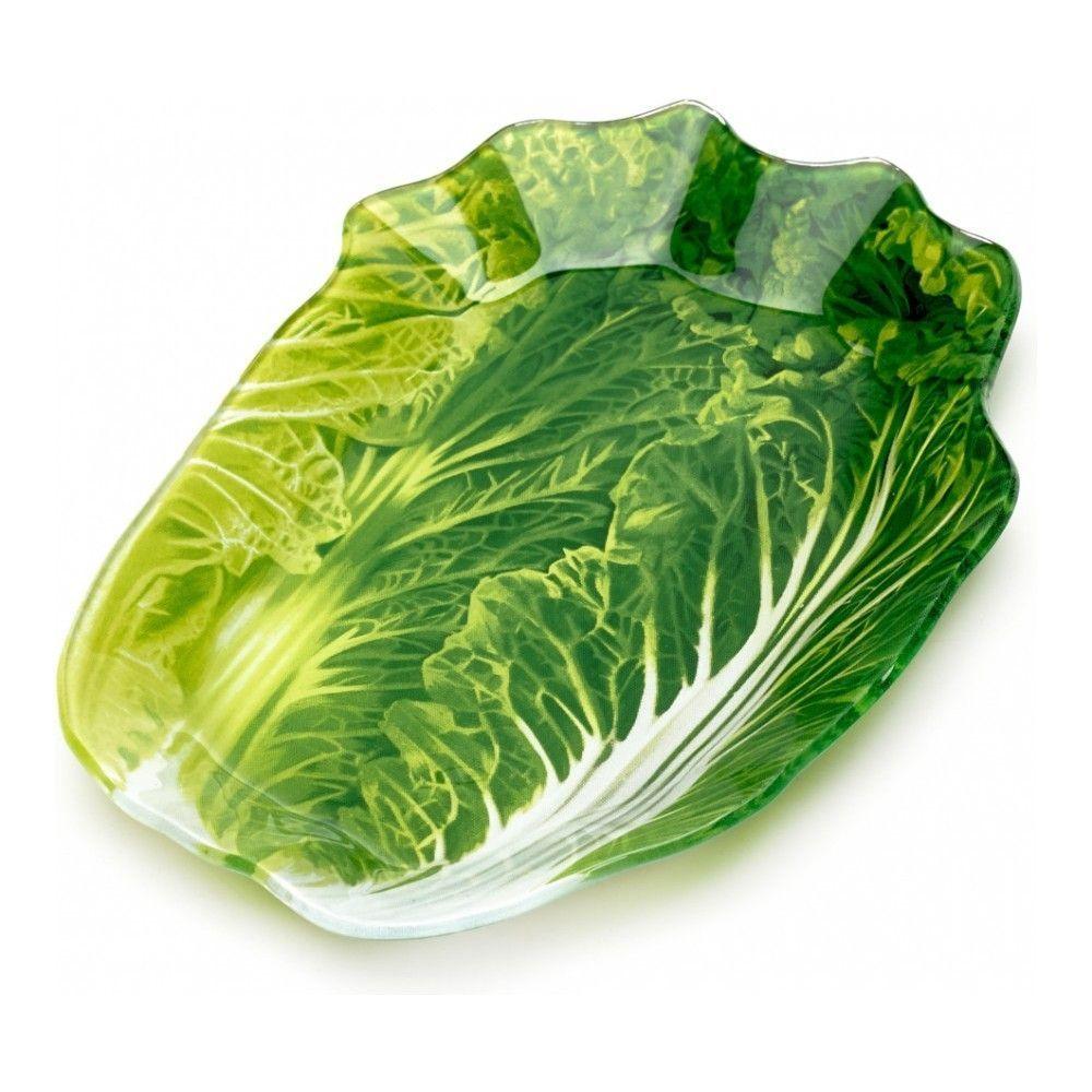 Блюдо сервировочное Walmer Greenery 15х21 см, цвет зелёный изображение №1