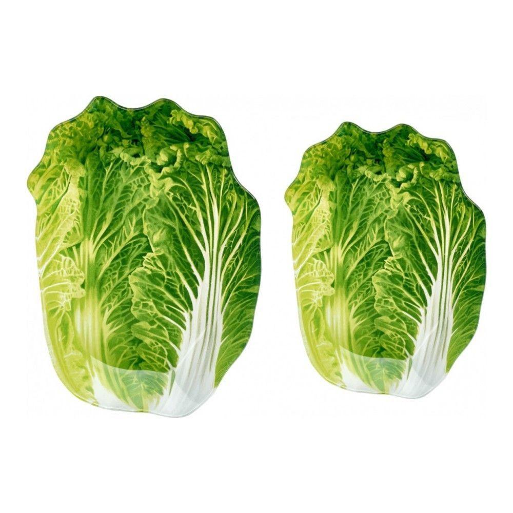 Блюдо сервировочное Walmer Greenery 15х21 см, цвет зелёный изображение №2