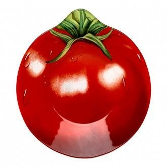 Салатник Walmer Colourful Tomato 20х22 см