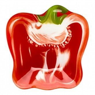 Салатник Walmer Colourful Red Pepper 22х23 см