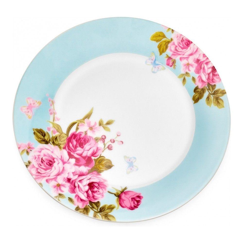 Тарелка десертная Walmer Mirabella Blue, 19см, цвет голубой изображение №0