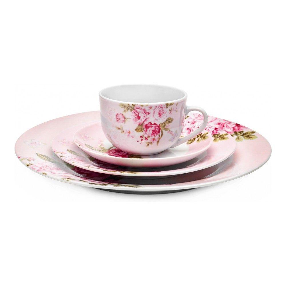Тарелка десертная Walmer Mirabella Pink, 19см, цвет розовый изображение №2