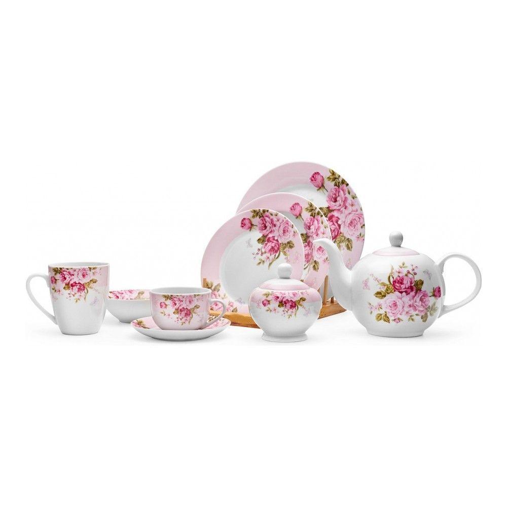 Тарелка десертная Walmer Mirabella Pink, 19см, цвет розовый изображение №3