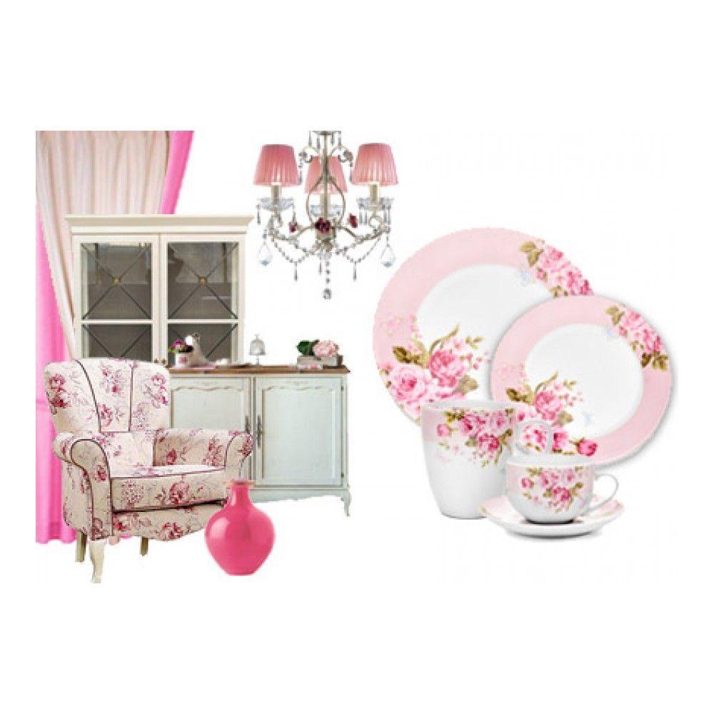 Тарелка десертная Walmer Mirabella Pink, 19см, цвет розовый изображение №0