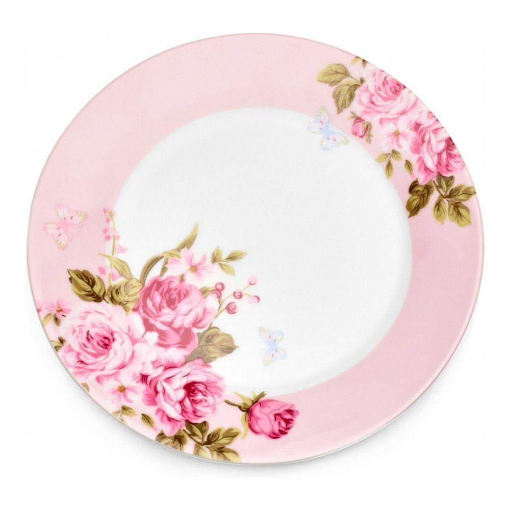 Тарелка десертная Walmer Mirabella Pink, 19см, цвет розовый изображение №1