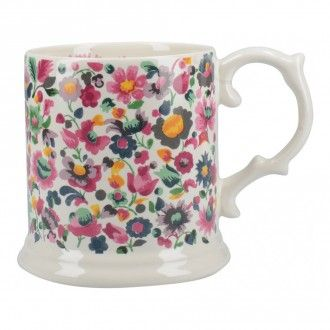 Кружка Kitchen Craft Katie Alice Blooming Fancy, 0.48 л, цвет серый