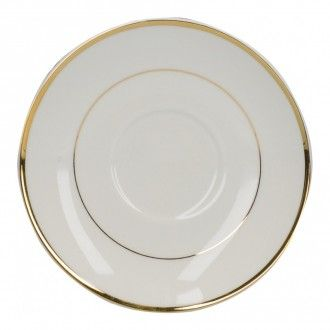 Блюдце Kitchen Craft Mikasa Cameo Gold, 15 см, цвет золото