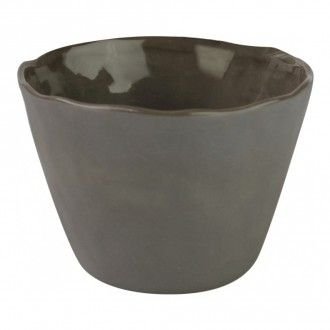 Бокал Be Home Stoneware, 0.35 л, цвет серый