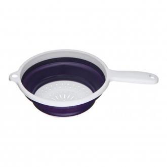 Дуршлаг складной с ручкой Premier Housewares, 20см, фиолетовый DOMOS 295.000