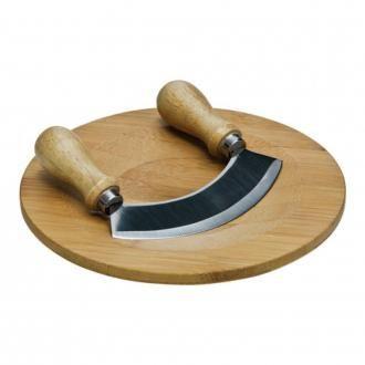 Доска разделочная с ножом для зелени Premier Housewares, светлое дерево DOMOS 669.000