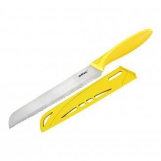 Нож для хлеба с чехлом с длиной лезвия 22см Zyliss, желтый DOMOS 739.000
