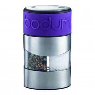 Мельница для соли и перца BODUM Twin, фиолетовый DOMOS 1895.000