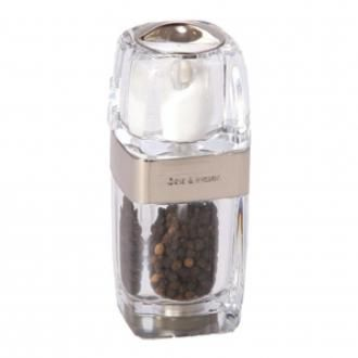 Мельница для перца с солонкой Cole&Mason Seville, прозрачный DOMOS 925.000