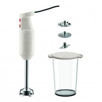 Электрический блендер с аксессуарами BODUM Bistro, белый DOMOS 4445.000