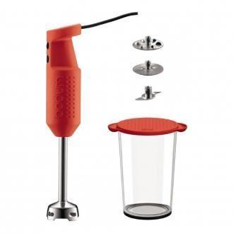 Электрический блендер с аксессуарами BODUM Bistro, красный DOMOS 4445.000