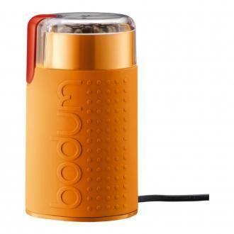 Электрическая ножевая кофемолка BODUM Bistro, оранжевый DOMOS 2039.000