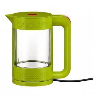Электрический чайник с колбой из термостекла BODUM Bistro, 1.1л, зеленый DOMOS 5235.000