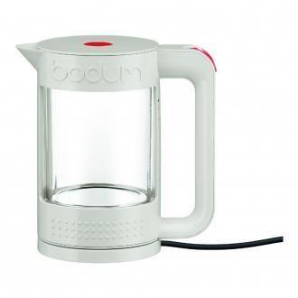 Электрический чайник с колбой из термостекла BODUM Bistro, 1.1л, белый DOMOS 5235.000