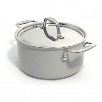Кастрюля BEKA Chef Eco-logic с керамическим покрытием, 2.8л, серый DOMOS 3909.000