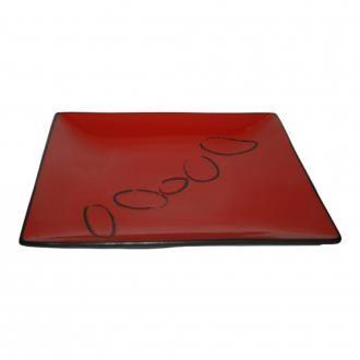 Тарелка квадратная Ritzenhoff & Breker Roots, красный DOMOS 1085.000