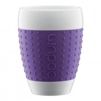 Набор стаканов (2 штуки) BODUM Pavina, 0.4л, фиолетовый DOMOS 1125.000