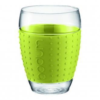 Набор стаканов (2 штуки) BODUM Pavina, 0.45л, зеленый DOMOS 965.000