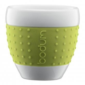 Набор стаканов (2 штуки) BODUM Pavina, 0.25л, зеленый DOMOS 819.000