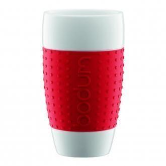 Набор стаканов (2 штуки) BODUM Pavina, 0.5л, красный DOMOS 0.000