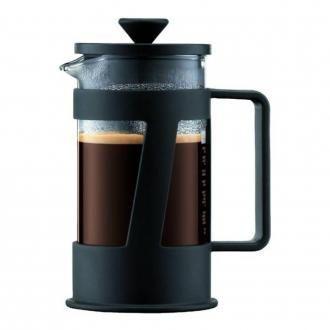Кофейник френч-пресс BODUM Crema, 0.35л, чёрный DOMOS 885.000