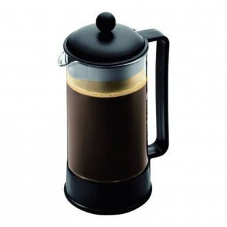 Кофейник френч-пресс BODUM Brazil, 1л, чёрный DOMOS 1169.000