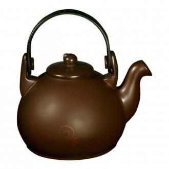 Чайник Ceraflame Colonial с декором, 1.7л, шоколад DOMOS 3429.000