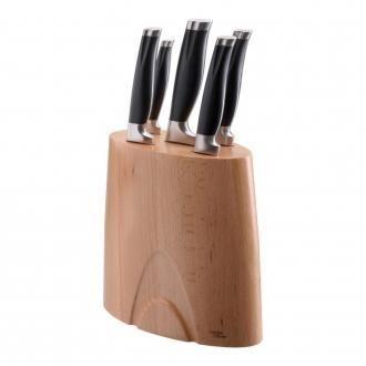 Набор 5 ножей в подставке Jamie Oliver, светлое дерево DOMOS 8569.000
