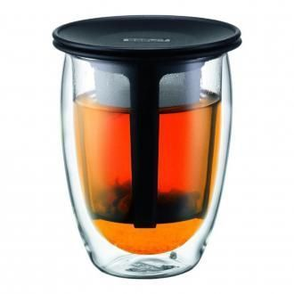 Термобокал с фильтром BODUM Tea for One, 0.35л, чёрный DOMOS 1125.000