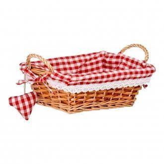Корзинка прямоугольная для хлеба Premier Housewares, красный DOMOS 375.000
