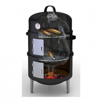 Коптильня Barbecook двухуровневая, чёрный DOMOS 3909.000