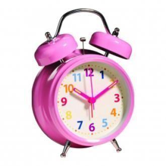 Будильник Premier Housewares, розовый DOMOS 719.000