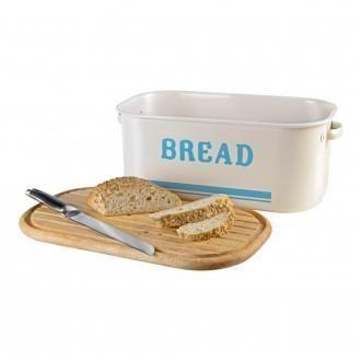 Хлебница с доской для хлеба Jamie Oliver, кремовый DOMOS 3675.000