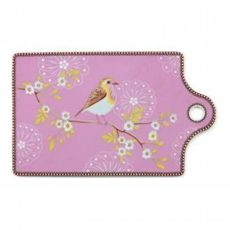 Доска для сыра PiP Studio Утренняя Птица, розовый DOMOS 815.000