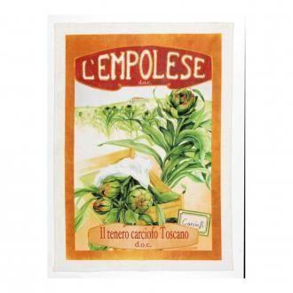Полотенце кухонное Tessitura Vintage Carciofi, кремовый DOMOS 745.000