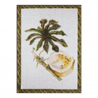 Полотенце кухонное Tessitura Tropical Papaya, кремовый DOMOS 745.000