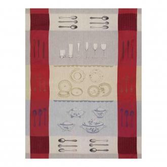 Полотенце кухонное Tessitura Dinner, красный DOMOS 745.000