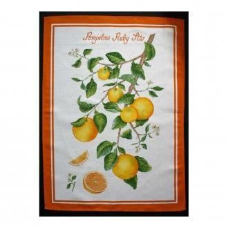 Полотенце кухонное Tessitura Pompelo Ruby Star, оранжевый DOMOS 665.000